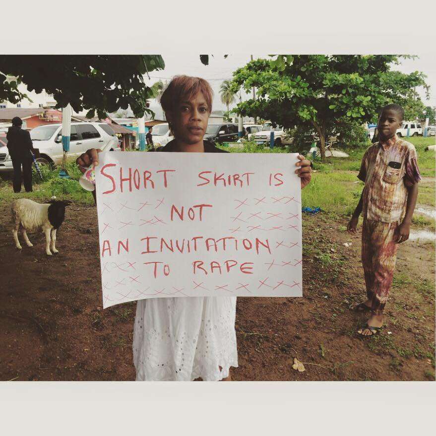 In Sierra Leone, OUTRAGE FOR HANNAH!