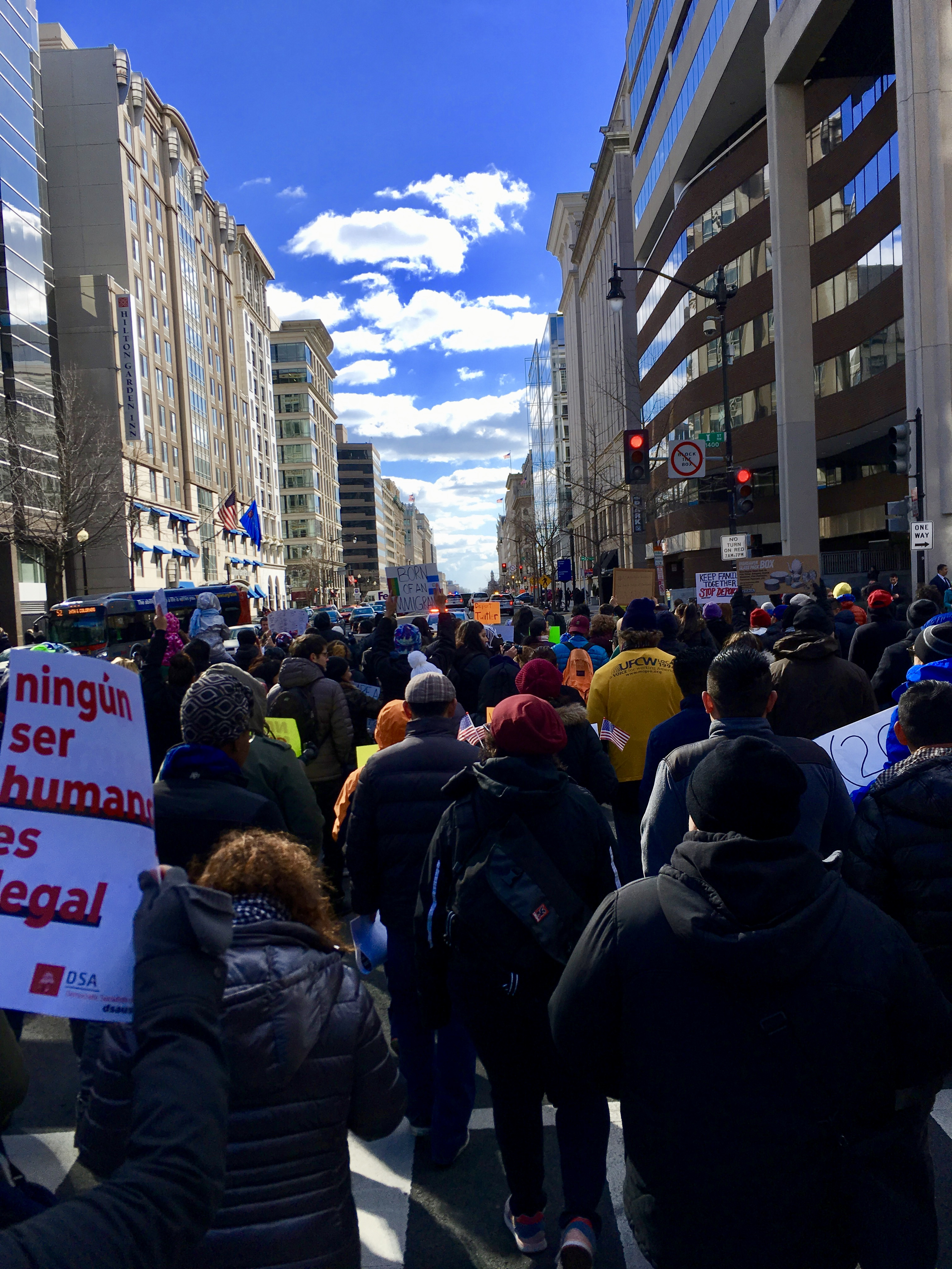 A Day Without Immigrants tells me what democracy looks like