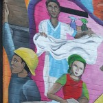 Women and Men Mural